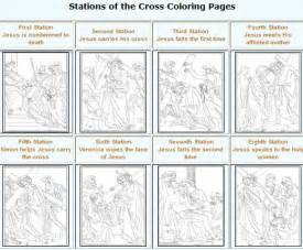 stations of the cross coloring pages free coloring pages of stations of the cross