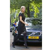 Princess Maxima Revisits Rock Chic Look In Leather Outfit