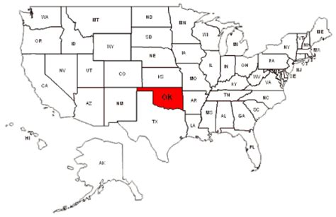 map of the united states oklahoma oklahoma map and oklahoma satellite images