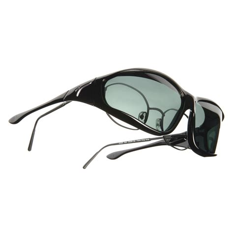 vistana large l black frame polarized gray lenses