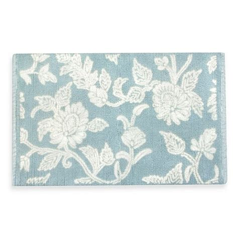 Flower Bath Rug Park B Smith Floral Swirl Bath Rug Www Bedbathandbeyond