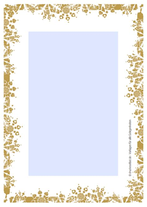 Kostenlose Vorlage Weihnachtsbriefpapier drucke selbst pers 246 nliches schmuckpapier kostenlos