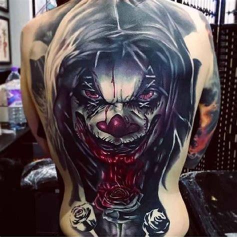 tattoo 3d clown 412 best horror tattoos images on pinterest horror