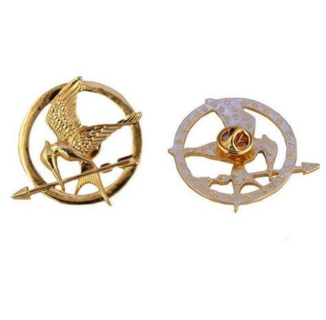 Gelang Mockingjay Gold 1 the hunger themed mockingjay pin lilyfair jewelry