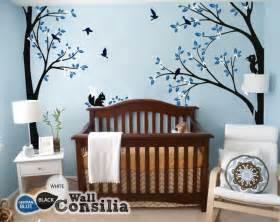 Nursery Decorations Wall Stickers tree wall decal nursery wall decoration tree wall sticker