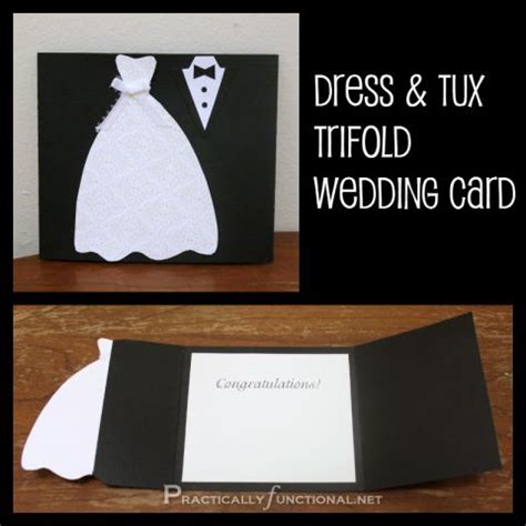 wedding dress template for cards diy wedding card dress tux trifold printable