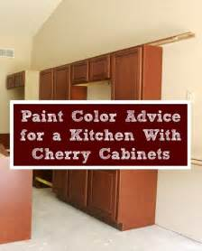 kitchen with wood cabinets paint color advice for a kitchen with cherry cabinets
