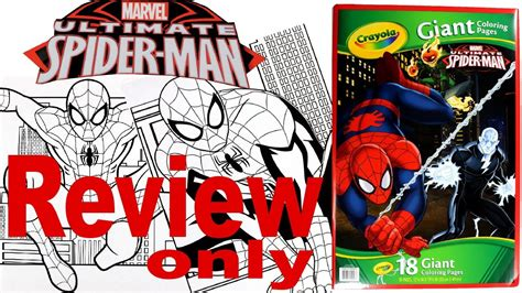 crayola giant coloring pages ultimate spider man full coloring pages review spider man crayola giant