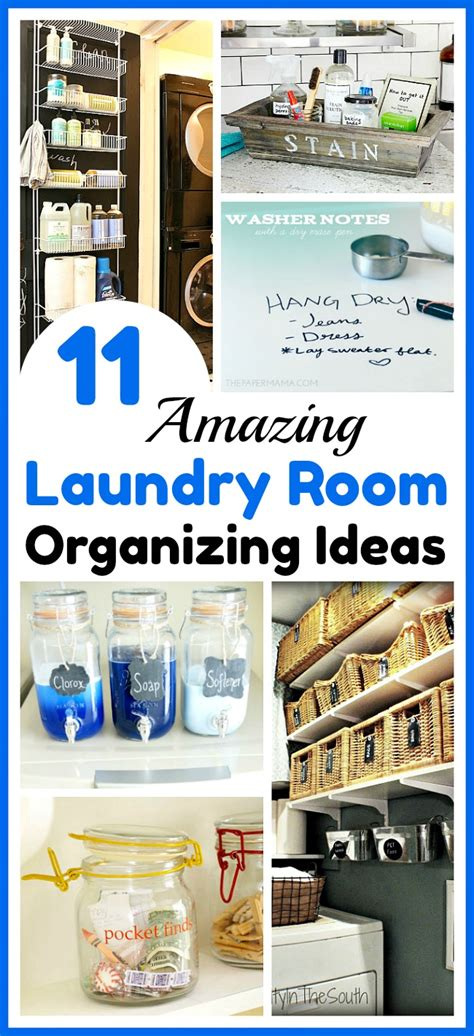 Laundry Room Organizing Ideas by 11 Laundry Room Organization Ideas Get Your Laundry Area
