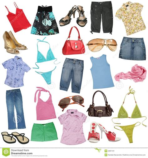 shoes and clothes different clothes stock image image 2681191