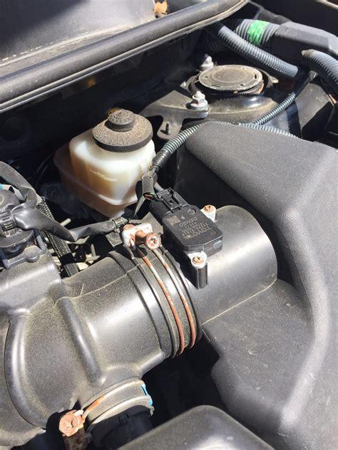 bad mass air flow sensor no check engine light replace toyota rav4 maf sensor cluber