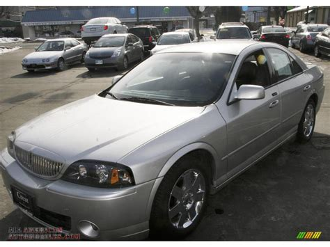 Black And Silver Ls by 2004 Lincoln Ls Sport In Silver Birch Metallic 641956