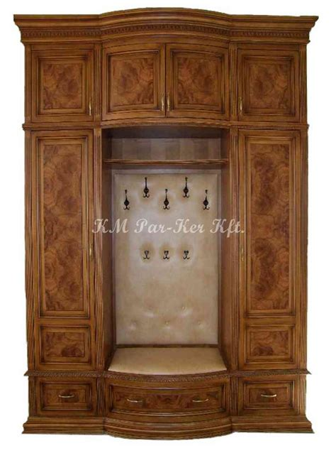 Coat Closet Furniture Custom Marquetry Furnitures Fuerstparkett