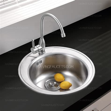 round kitchen sink stainless steel round kitchen sinks faucet included 200 99