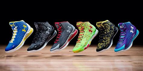 armour shares up 8 as stephen curry s shoes prove