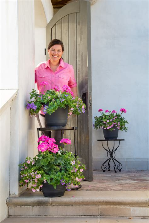 southern living collection tips for perfect potted flowers and the southern living