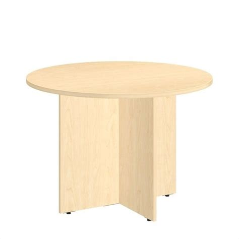 wood conference table bush business 42w conference table wood base in