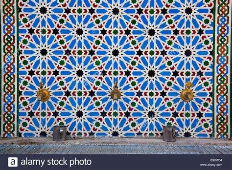 islamic patterns on a mosque stock photos freeimages com islamic pattern water faucets inside the great mosque in