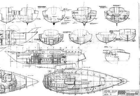 catamaran boat drawing technical drawings of sail boats practice pinterest