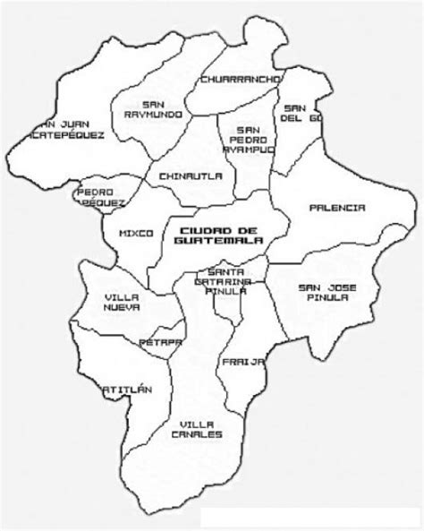 guatemala map coloring page mapa de guatemala para colorear guatemala outline map