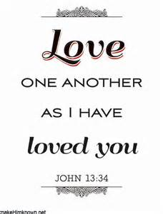 Love one another as i have loved you quot john 13 34 christian art print
