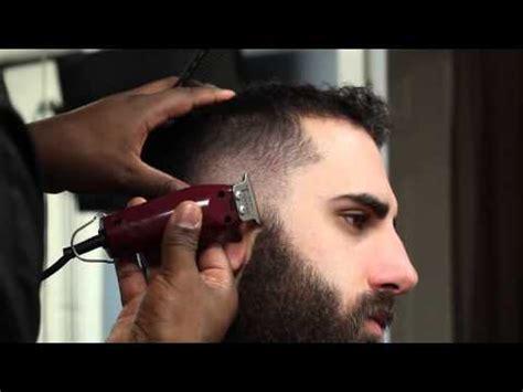 corte de barbas corte moicano e barba corte masculino