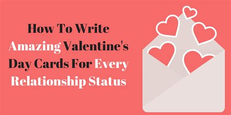 how to write a valentines cardwritings and papers