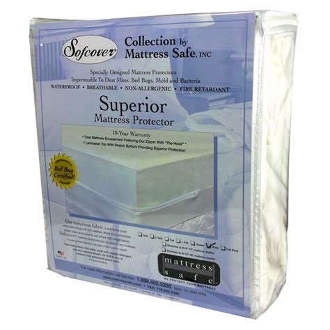 mattress safe cover for bed bugs dust mites xl