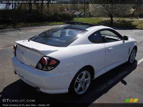 2003 Hyundai Tiburon Gt V6 Specs by 2003 Hyundai Tiburon Gt V6 In Alpine White Photo No