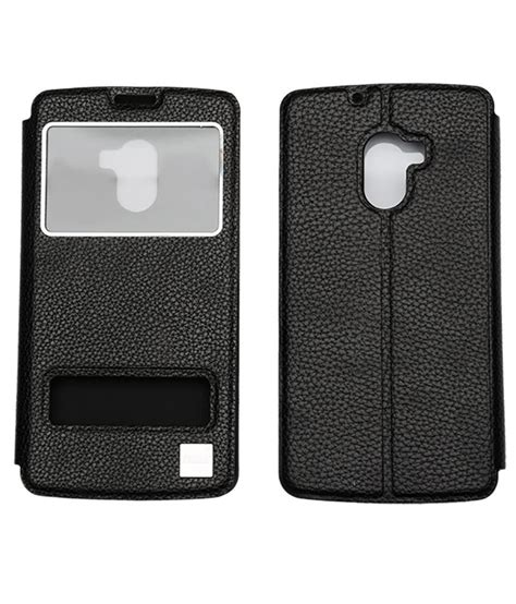 Lenovo K4 Note Premium Flip Soft Casing Cover Bumper Sarung ncase flip cover for lenovo vibe k4 note black flip covers at low prices snapdeal india