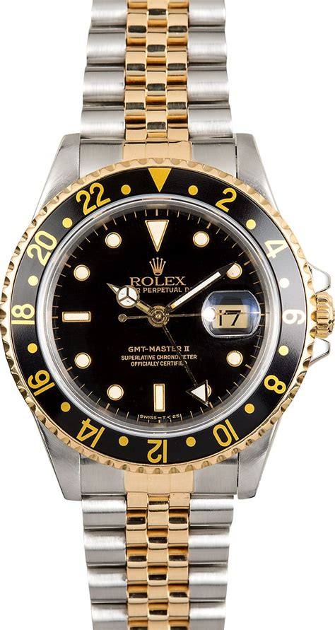 Rolex Gmt Master Ii As rolex gmt master ii 16713 steel and gold jubilee
