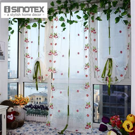 strawberry kitchen curtains buy wholesale strawberry kitchen curtains from