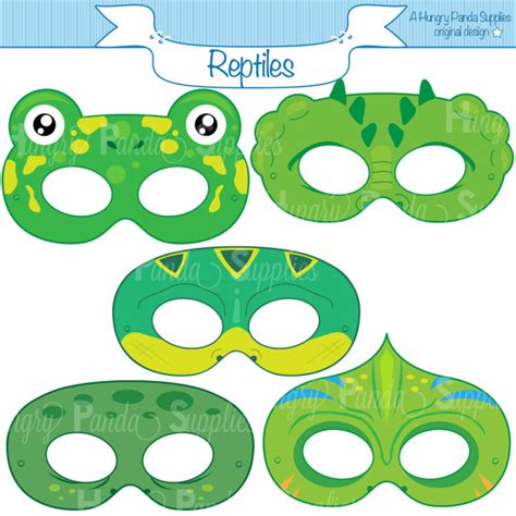 printable lizard mask template reptile printable masks lizard mask turtle alligator