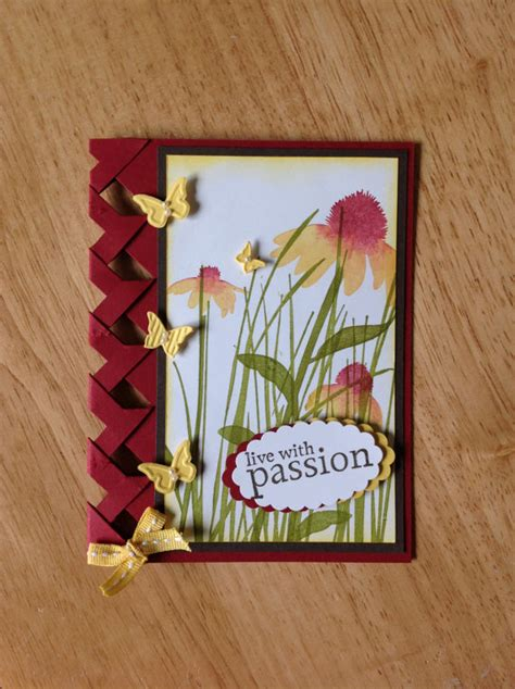 Handmade Cards Stin Up - items similar to stin up handmade all occasion card