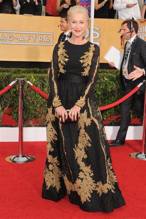 Helen Mirren Has At Sag Awards by Helen Mirren Wows And Wins At Sag Awards 2014