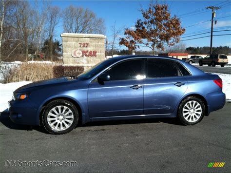subaru impreza sedan 2008 2008 subaru impreza 2 5i sedan in newport blue pearl