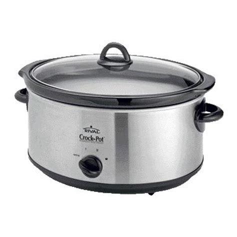 rival crock pot scv655 6.5l slow cooker with utensils | ebay