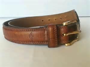 dockers mens brown grain leather belt size 36 90