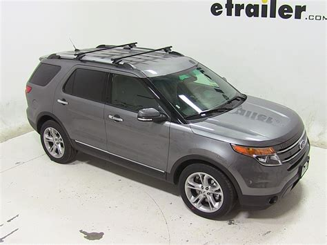 Ford Explorer Roof Rack by Thule Roof Rack For Ford Explorer 2014 Etrailer