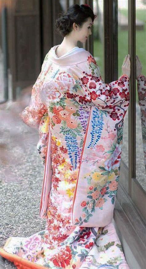 Japanese Kimono uchikake wedding kimono japan far east