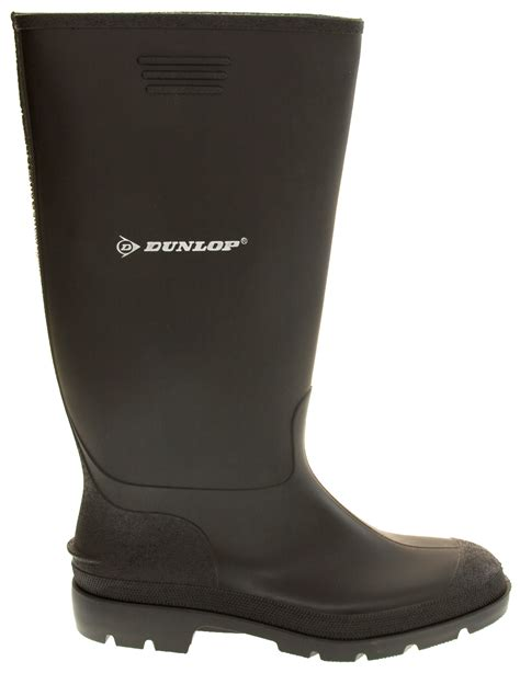 mens wellington boots mens dunlop waterproof wellington boots garden boot