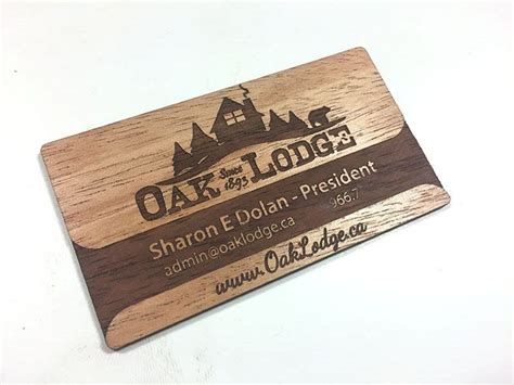 woodworking business wood business cards laser engraved starting at 1 30 each