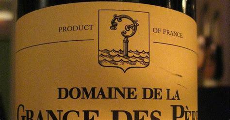 Vin Grange Des Pères by Finare Vinare 2003 Domaine De La Grange Des P 232 Res