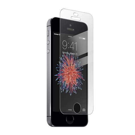 iphone 5 5s clear tempered glass screen protectors covers skins