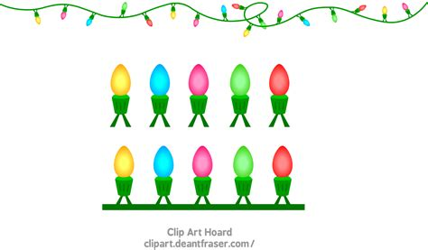holiday lights clip art pictures to pin on pinterest