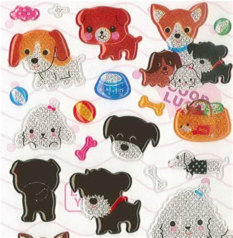 puppy stickers sticker sheets images