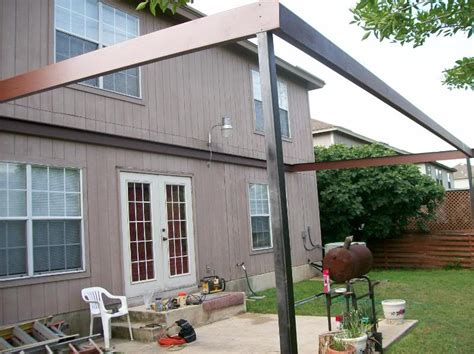 Patio Awning Images Custom Steel Patio Awning Thousand Oaks San Antonio