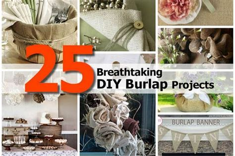 burlap diy projects 25 breathtaking diy burlap projects