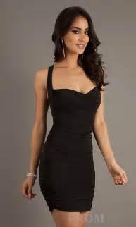 Tight Black Formal Dress Tight Cocktail Dresses