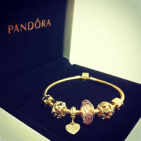 44 gold pandora charm bracelet best 25 pandora gold ideas
